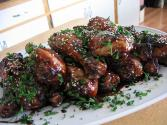 Herb Glazed Chickens