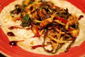 Hoisin Chicken With Chinese Pancakes