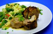 Honey Rosemary Pork Tenderloin