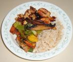 Honeyed Stir-fry Rice And Vegetables