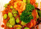 Hot Chilli Prawns