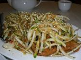 Hot Chinese Chicken Salad