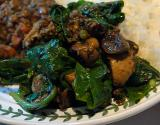 Buttered Spinach Indian Style