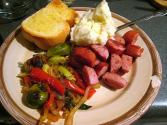 Kielbasa Vegetable Dinner