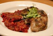 Lemon Marinated Lamb Chops