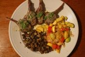 Lamb Chops With Rosemary