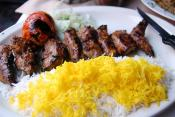 Marinated Lamb Kabobs