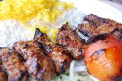 Garlic Lamb Kabobs