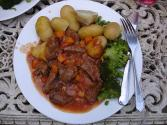 Simmered Lamb And Potato Stew