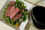 Lamb Salad With Mint Dressing