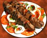 Lamb Shish Kebab