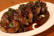 Lamb With Cherry Sauce
