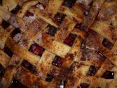 Lattice-top Sweet Cherry Pie