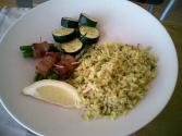 Lemon And Celery Pilaf