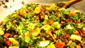 Lemon Rice And Vegetable Salad