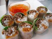 Lettuce Wrapped Spring Rolls