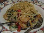 Linguine With Grilled Seafood