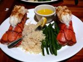 Deviled Crab Lobster Tails