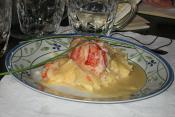 Lobster Tails Flambée