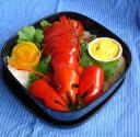 Lobster Tails With Mustard Sauce