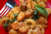 Macaroni Shrimp Curry