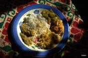 Masoor Dal With Rice