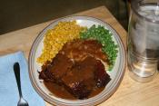 Danish Meat Loaf With Apple Gravy