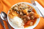 Middle East Pilaf With Meatballs