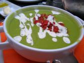 Minted Pea Soup Chilled