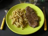 Minute Steak Au Poivre