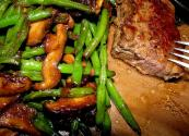 Minute Steaks With Mushrooms