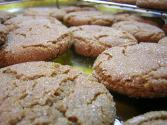 Crispy Molasses Cookies