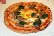 Baked Spinach With Mozzarella Cheese