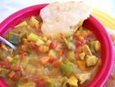 Mulligatawny With Coconut Dressing