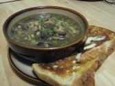 Chunky Mushroom And Barley Soup