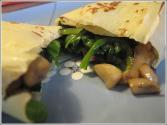 Mushroom Crepes