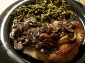 Barbecued Chuck With Mushroom Stuffing