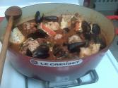 Mussels In A Light Italian Sauce