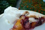 Nectarine Cream Pie