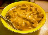 Meat Loaf And Noodles Stroganoff