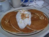 Fudge Nut Pancakes   