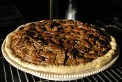 Brazil Nut Black Bottom Pie