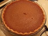 Sweet Butter Cornmeal With Vanilla Chess Pie