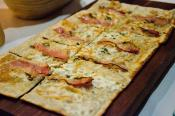 Cheesy Onion Flatbread