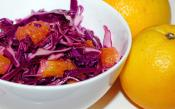 Orange And Cabbage Salad
