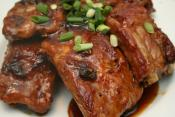 Orange Glazed Ribs
