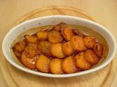 Grated Orange Peel Glazed Sweet Potatoes