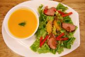 Melon Salad With Orange-honey Dressing