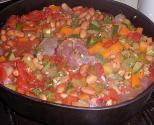 Oven Beef & Mushrooms Stew