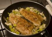 Low-sodium Oven Fried Fillets